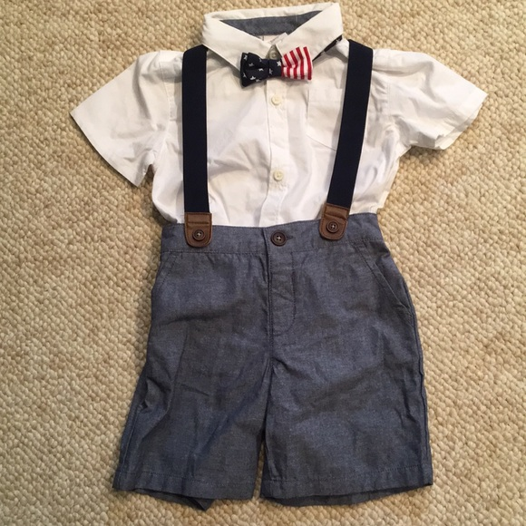 Gymboree Other - BNWT 4th of July or Memorial Day Toddler Outfit
